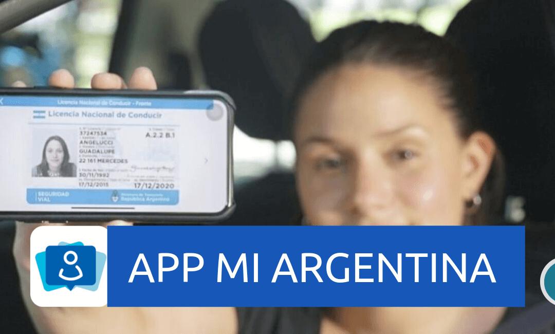App Mi Argentina, ahora todo digital: Licencias, cédulas, seguros y más
